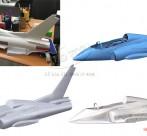 Scan 3d máy bay