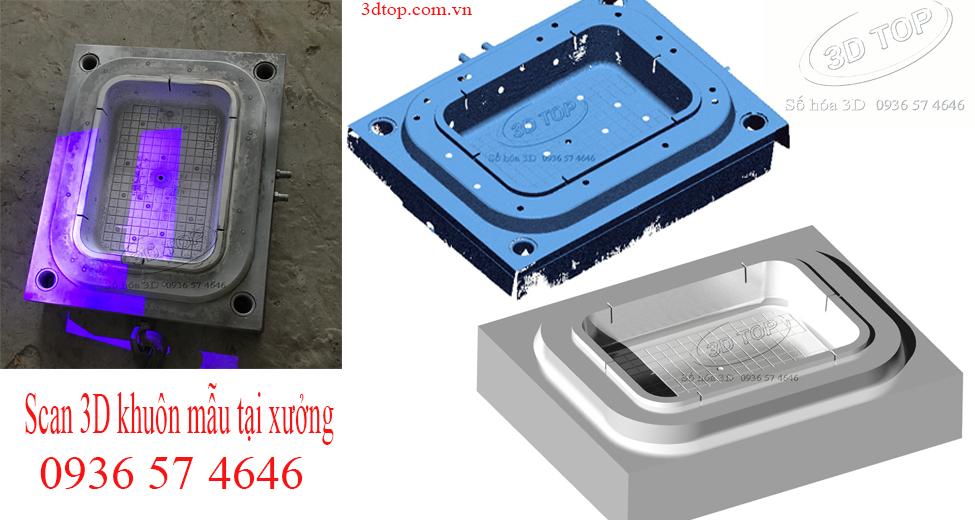 Scan 3D khuôn mẫu, thiết kế ngược khuôn mẫu